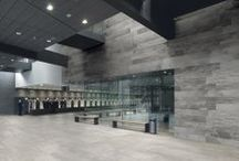 Hardcore Collection / Concrete effect floor and wall tiles from Bedrock Tiles |   R9 Slip Resistance |  Large Format 1500 x 750 mm | Suitable for use as Commercial Tiles | Suitable as Architectural Tiles