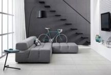 Demure Collection / Contemporary floor and wall tiles from Bedrock Tiles | 3 Finishes - 4 Colours | Suitable for use as Commercial Tiles | Suitable as Architectural Tiles