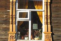 porte,portali e finestre / delle forme più diverse che possono assumere  porte e finestre e le loro cornici