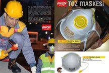 www.awon.com.tr new product / Awon job saftey