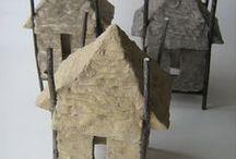 Pottery Houses Slab
