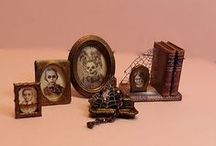 """Doll Houses - Inspiration for my Beacon Hill project / Inspiration for my """"spooky"""" Beacon Hill dollhouse project."""