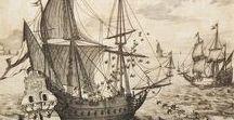 art ❈ nautical engraving