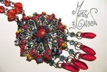 creations de Mamzel bonbon / I invite you to come discover my jewelry creations