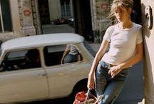 Style icon Jane Birkin