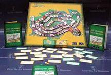 Manchuteka. Juego para fomentar la lectura / Con la lectura de estos libros se puede jugar a Manchuteka, un particular juego de la Oca a través de la lectura editado por la Consejería de Cultura de Castilla-La Mancha.