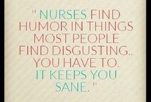 Nurse life. / My life as a nurse. Helpful hints for me and hilarious truths.