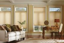 Duette®HoneyComb Shades / Hunter Douglas energy efficient shades with honeycomb construction. The original single- and double-honeycomb Duette® shades come in multiple cell sizes, a horizontal or Vertiglide™ vertical orientation, and a range of light-control options from sheer to opaque.