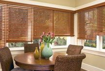 Everwood® Wood Blind Collection / t's our most comprehensive collection of alternative wood blinds in realistic grain patterns built to withstand heat and humidity. Choose from popular stains, and flat and beveled options.
