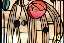 Charles Rennie Mackintosh / Stained Glass, Enamel etc
