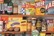 retro advertising & packaging