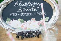 [ wedding food + drinks + menus ]