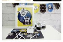 Star Wars / Star wars parties and everything your little Star wars lover would want!