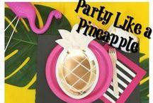 Flamingle / Tropical, flamingo, pineapple PARTY's!!