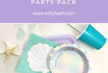"""Mermaid / Mermaid and """"under the sea"""" party ideas for your little girls birthday party."""