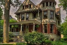 Victorian Houses Old older oldest / by Julie Pontillo Henderson
