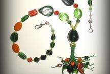 Mixed styles of jewelry by Marita Svare
