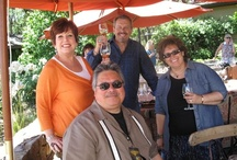 NVJG 2012   Lucheon at Gargiulo Vineyards / Jeff and Valerie Gargiulo hosted a beautiful lunch for our VIP's which featured a local gypsy jazz trio named, Marouche.  Their winery has one of the most amazing views of the valley!