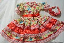 VESTIDOS DA LILUART ROUPAS INFANTIS 2 / Vestidos confeccionados pela LILUART ROUPAS INFANTIS. Vestidos feitos sob medida. Tecido, fitas, tiras bordadas, cetim, flores.... é a Liluart realizando o seu sonho.