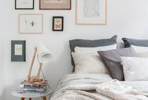 Bedroom Ideas / A collection of beautiful design ideas for my small-medium sized bedroom!