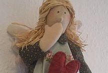 Muñecas Tilda / Muñecas tilda, tilda dolls, bonecas / by María Ortega