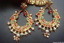 Only earrings / by Kanak Mehta