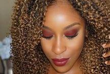 Fall Makeup / Browns, berry and orange toned makeup looks that scream Autumn.