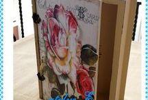 El işlerim / dekoratif ahşap,polyester objelerin boyanması
