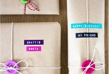 DIY - Gifts / Lot's of cool handmade gift ideas, yey!
