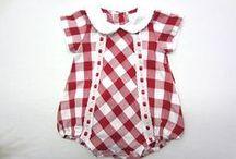 Ropita de bebè.  Baby clothes / Modelitos para bebes