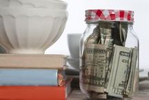 budgeting, saving money and work from home ideas