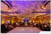 Elegant Wedding At Four Season Hotel , Beverly Hills ,CA / Beautiful elegant royal theme wedding , with beautiful ambiance lighting , amazing centerpieces , created by After Eight Event Productions Inc.
