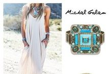 Stand Out Outfits / Different option to stand out your outfits with Michal Golan Handmade Jewelry. / by Michal Golan Jewelry