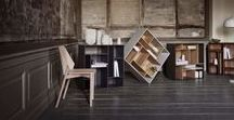 Work Space Storage / Smart and beautiful storage sollutions for the creative professional home office.