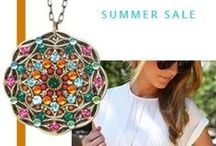 Summer Sale / Summer Sale is on NOW ! 40% OFF on all 2015 Spring/Summer jewelry collections.Check it out at www.michalgolan.com / by Michal Golan Jewelry