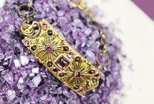 Fall Fashion: Jewel Tones / Rich emeralds, blues, and garnets add dimension to any Fall wardrobe.