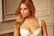 Underwear Fashion / Lingerie and underwear fashion ideas often fronted by celebrity models