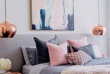 Sweet pastel rooms
