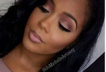 Full Glam Makeup Looks / Heavy contours, bold eye shadows & cut creases to complete any night out look.