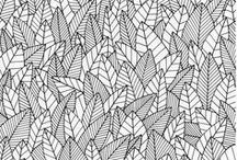 Pattern / Pattern Design, Repeat Patterns, Scandinavian Patterns, Minimal Patterns, Muted Color Patterns, Pattern Inspiration, Illustration.