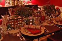 Yuletide Tablescapes / by Christmas Cottage