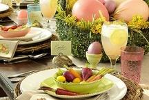 Easter Tablesettings