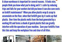 Workplace Safety / Tips and ideas for creating a safe workplace