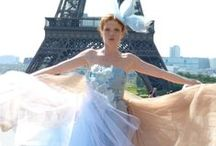Paris Magic / My photos from a fashion shoot at the Eiffel Tower