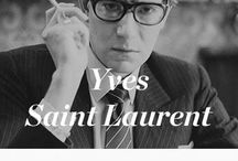 Yves Saint Laurent ❤️ YSL⚜️⚜️ / Yves Henri Donat Mathieu-Saint-Laurent (French pronunciation: [iv sɛ̃ lɔʁɑ̃]; 1 August 1936 – 1 June 2008), known as Yves Saint Laurent, was an Algerian-born French fashion designer, and is regarded as one of the greatest names in fashion history.  LEO FIRE RAT