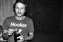 FASHION: Heath Ledger, Belated Actor. / Australian Actor & Model / by Donald Breeden