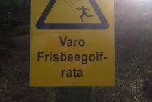 Frisbee.. I mean DISC GOLF!