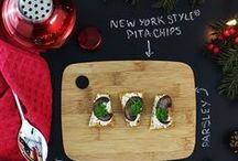 Celebrate with New York Style® / New York Style® Pita Chips, Bagel Crisps & Panetini are always the Thing to Bring™ for the holidays. Try out these delicious seasonal recipes that are sure to please!