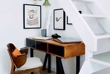Interiors // Under the stairs / Things to do for my under the stairs space