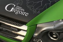 Advertising lettering / lettrage publicitaire / Lettrage publicitaires sur véhicules réalisés par Laurent Feuillen / GRAPHIC Dimension